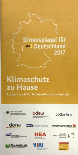 "Flyer ""Stromspiegel"""