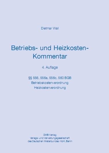 Betriebs- und Heizkosten-Kommentar